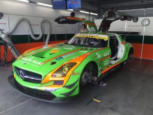 プロテクションフィルムを施工したレーシングカーその3
