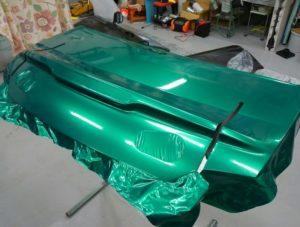カーラッピング トランク AMG GT GT3 スーパーGT