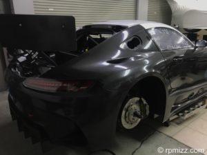 スーパーGT カーラッピング プロテクションフィルム AMG GT