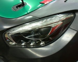 ヘッドライトプロテクションフィルム AMG GT GT3 スーパーGT