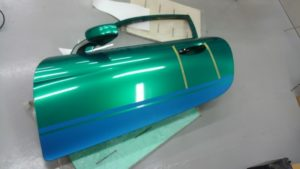 カーラッピング ドア AMG GT GT3 スーパーGT