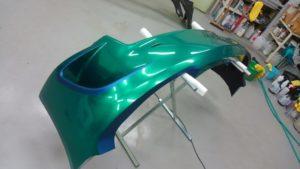 カーラッピング リアバンパー AMG GT GT3 スーパーGT