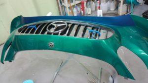プロテクションフィルム フロントバンパー AMG GT GT3 スーパーGT