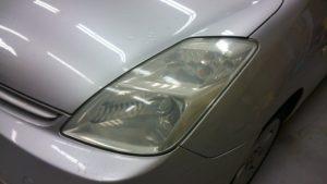 ヘッドライトの黄ばみ 車検合格範囲