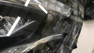 ヘッドライト 飛び石傷 ドリームコート修理