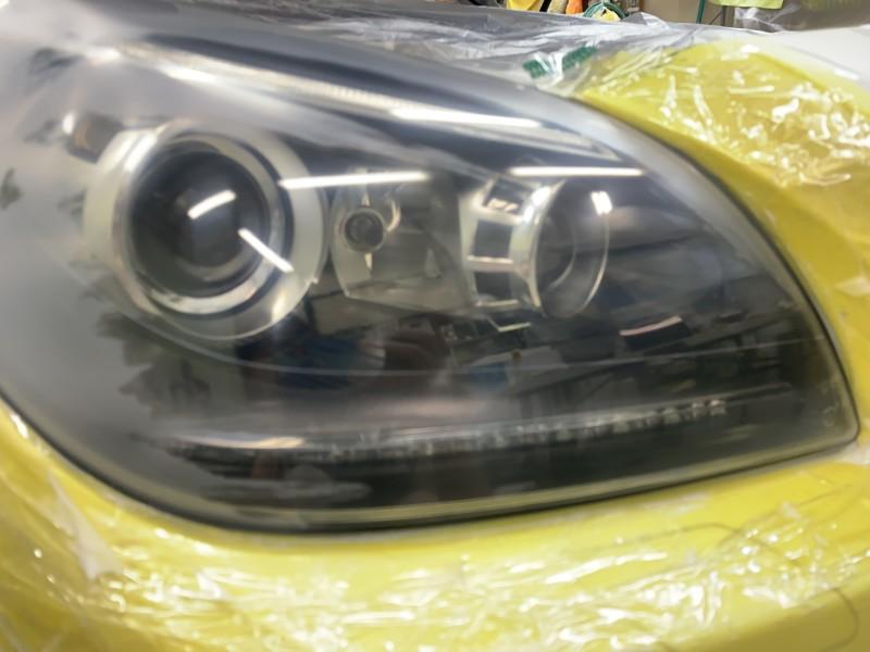 ヘッドライト修理