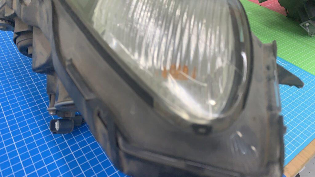 S2000ヘッドライトのパッキン破損